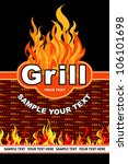grill. barbecue and grill... | Shutterstock .eps vector #106101698