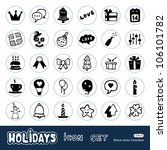holidays and celebration web... | Shutterstock .eps vector #106101782