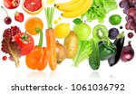 falling of fruits and... | Shutterstock . vector #1061036792