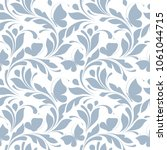 seamless floral pattern with... | Shutterstock .eps vector #1061044715