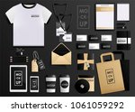 corporate identity design... | Shutterstock . vector #1061059292