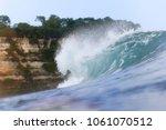 ocean wave. uluwatu. bali....   Shutterstock . vector #1061070512
