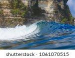 ocean wave. uluwatu. bali....   Shutterstock . vector #1061070515