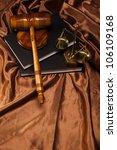 judge gavel | Shutterstock . vector #106109168