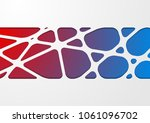 bright abstract tech corporate... | Shutterstock .eps vector #1061096702