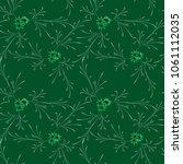 little flowers. seamless... | Shutterstock .eps vector #1061112035