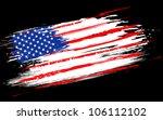illustration of american flag... | Shutterstock .eps vector #106112102