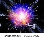 composition of bursting... | Shutterstock . vector #106113932