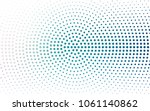 light blue vector pattern of... | Shutterstock .eps vector #1061140862
