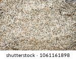 rock surface texture with white ... | Shutterstock . vector #1061161898