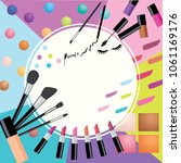 illustration vector cosmetic...   Shutterstock .eps vector #1061169176