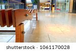 empty mall interior before... | Shutterstock . vector #1061170028