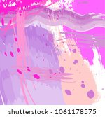abstract colorful pink and... | Shutterstock .eps vector #1061178575