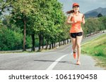 an asian woman athletic is... | Shutterstock . vector #1061190458