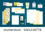 beekeeping branding design.... | Shutterstock .eps vector #1061218778