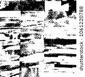 abstract grunge grid stripe... | Shutterstock . vector #1061220788