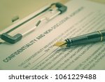 business legal document concept ... | Shutterstock . vector #1061229488