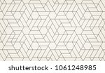 abstract geometric pattern with ... | Shutterstock .eps vector #1061248985