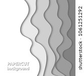 vector background with white... | Shutterstock .eps vector #1061251292