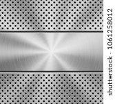 metal texture technology... | Shutterstock .eps vector #1061258012