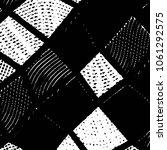 grunge halftone black and white ...   Shutterstock .eps vector #1061292575