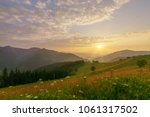 Mountains Landscape With Wild...