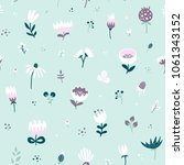 seamless pattern from the field ... | Shutterstock .eps vector #1061343152