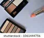 set of decorative cosmetics on...   Shutterstock . vector #1061444756