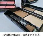 set of decorative cosmetics on...   Shutterstock . vector #1061445416