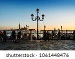 venice  italy   december 21 ...   Shutterstock . vector #1061448476