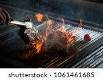 spring background of food.... | Shutterstock . vector #1061461685