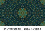 colorful watercolor pattern....   Shutterstock . vector #1061464865