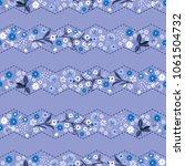 monotone classic gentle zigzag...   Shutterstock .eps vector #1061504732