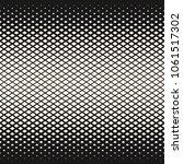 raster halftone geometric... | Shutterstock . vector #1061517302