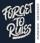 typography and t shirt graphic... | Shutterstock .eps vector #1061561015