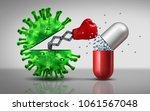 antibiotic resistant virus as a ... | Shutterstock . vector #1061567048