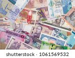 various money of african... | Shutterstock . vector #1061569532