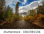 spectacular views of the... | Shutterstock . vector #1061581136