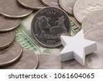 a quarter of wisconsin ...   Shutterstock . vector #1061604065