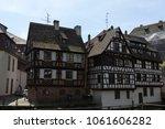 view to strasburg | Shutterstock . vector #1061606282