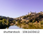 toledo city  panoramic of... | Shutterstock . vector #1061633612