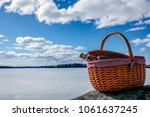 Pic Nic Basket With Champagne...