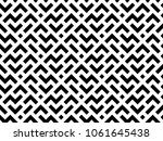abstract geometric pattern with ... | Shutterstock .eps vector #1061645438