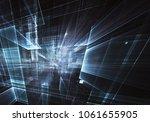 fractal art   computer image ...   Shutterstock . vector #1061655905