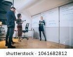 shot of a woman giving a... | Shutterstock . vector #1061682812