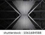 unrecognizable industrial... | Shutterstock . vector #1061684588