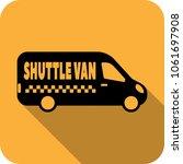vector taxi service logo design ... | Shutterstock .eps vector #1061697908