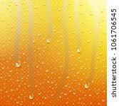 drops of water  dew falls. rain ... | Shutterstock .eps vector #1061706545
