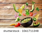 Guacamole With Flying Corn...