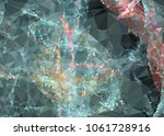 low poly mosaic background.... | Shutterstock .eps vector #1061728916